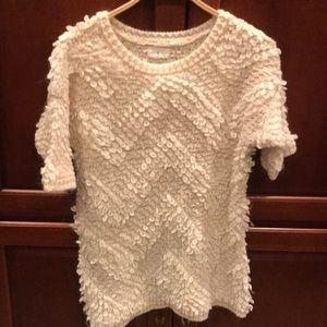 Lou & Grey chunky short sleeve sweater